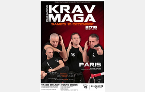 Stage national de Krav Maga à Paris